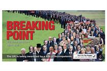 Anti-Brexit groups launch damning parody of Leave.EU's 'Breaking point' poster