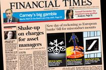 FT reports highest circulation in 125 years