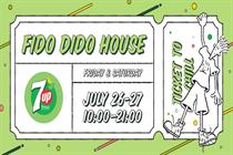 7Up Free brings the chill with Fido Dido house