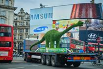 In pictures: Flora to land giant dinosaur in Westfield
