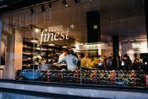 Tesco plans Finest pop-ups selling posh wine this Christmas