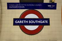 Visa renames Southgate tube station 'Gareth' to welcome England football team home