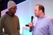 WATCH: Gideon Spanier interviews YouTuber Eman Kellam at Mobile World Congress