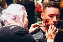 Inside Giffgaff's 'Halloween Salon'