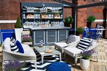 Grey Goose creates Cote d'Azur-inspired terraces at Harvey Nichols
