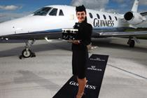 TRO flies high with extended Guinness Class campaign