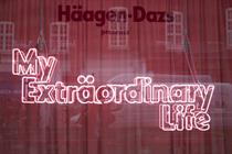 Inside Häagen-Dazs' My Extraordinary Life pop-up
