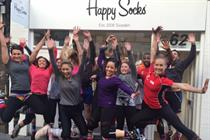 Happy Socks launches charity run with Happy Days