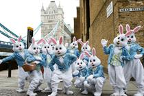 Haribo embraces Easter with bunny stunt