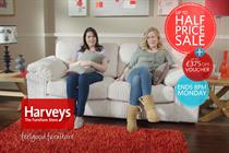 Enter loses £18m Harveys ad account