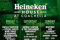 Heineken House returns to Coachella festival