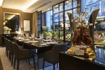 Hennessy creates dining experience