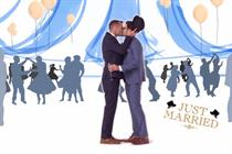 House of Fraser celebrates gay marriage in menswear promo