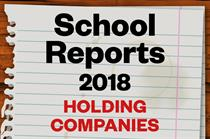 School Reports 2018: Top holding companies