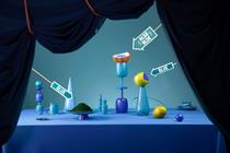Innocent partners Bompas & Parr for blue-themed cafe