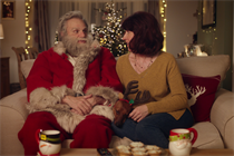Mr and Mrs Claus pop up for a second time in Iceland's Christmas ad