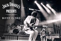 Jack Daniel's holds Biffy Clyro gig