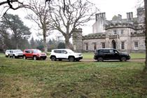 In pictures: Jeep launches Renegade at Winton House