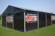 Baillies Marquees develop Just About Movies festival for 2014