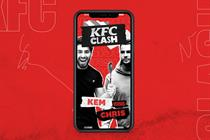 KFC stages live culinary battles to help Comic Relief