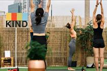 Kind Snacks to host rooftop yoga session