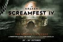 The Kraken creates Halloween gaming experience