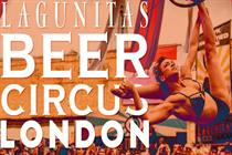 Lagunitas' circus is coming to town