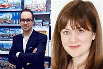 Lego appoints Lang as top UK marketer as Snell is promoted