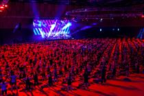 In pictures: Les Mills Live takes over Excel London with Reebok