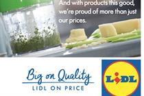 Lidl unveils 'Big on quality, Lidl on price' strapline ahead of campaign