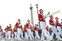 In pictures: London gets groovy in new year's day parade