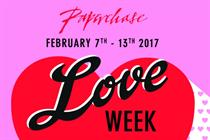 Paperchase creates in-store Valentine's experiences