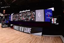 Microsoft brings fans virtually back to NBA league