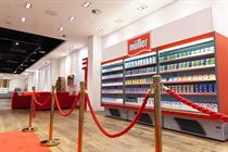 Muller offers 28,000 yoghurt combinations in first pop-up