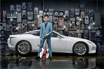 Lexus partners with Mark Ronson for latest campaign
