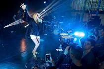 In pictures: Marriott and Universal launch partnership with Ellie Goulding