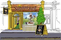 Eventographic: McCain's Sunday Best pop-up