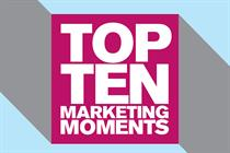 The top 10 marketing moments of 2015
