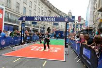 Event TV: NFL takes over Regent Street