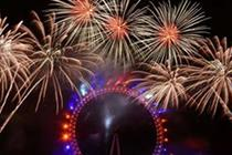 Decade of NYE London fireworks for Jack Morton