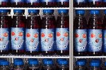 Oasis launches 'face-swappable' bottles