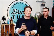 Jamie Oliver partners with Bacardi to launch Drinks Tube