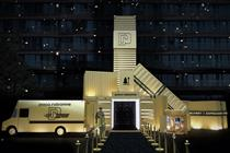 Paco Rabanne hosts 'golden party' inspired by fragrances