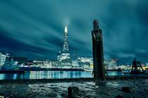 Google turns out The Shard's lights for stargazing event