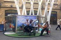 In pictures: Philippine Department of Tourism stages King's Cross station takeover