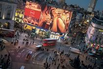 London's Piccadilly lights set to unveil new-look screen