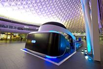 Event TV: Sony launches Playstation VR with giant headset installation