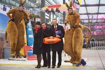 In pictures: Qantas and Heathrow Airport's Australia Day pop-up beach