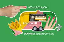 Treatwell teams up with Poptata for 'Quick chip fix' Shoreditch pop-up