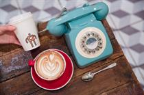 Relish teams up with Soho Grind for phone exchange pop-up